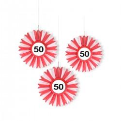 Honeycomb 50 verkeersbord