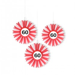 Honeycomb 60 verkeersbord