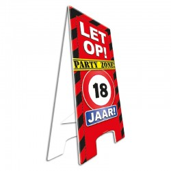 Warning Sign 18 jaar