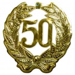 Jubileumkrans goud 50