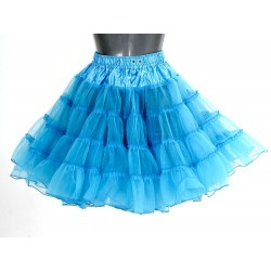 Petticoat lang turquoise