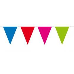 Vlaggenlijn mini gekleurd