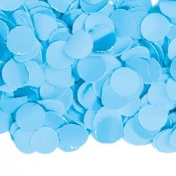 Confetti licht blauw 100 gram