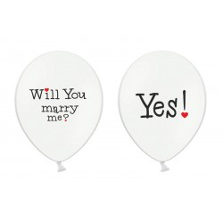 Ballonnen Will You marry me?