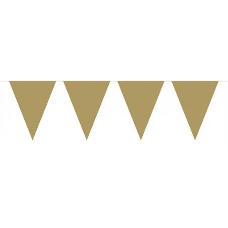 Vlaggenlijn mini goud