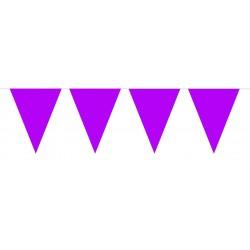 Vlaggenlijn mini paars