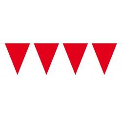 Vlaggenlijn mini rood