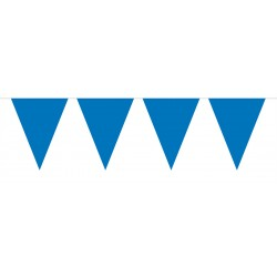 Vlaggenlijn mini blauw