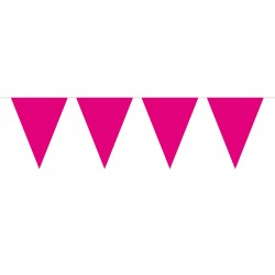 Vlaggenlijn mini roze