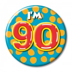 Button - 90 jaar