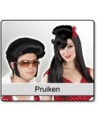 Een pruik om je outfit compleet je maken bestel je bij Hokus Pokus!