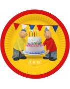 Buurman en Buurman verjaardagsversiering